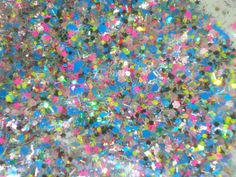Christmas Confetti Solvent Resistant Glitter by GlitterLambsPolish, $6.00