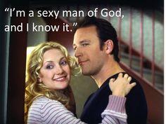I want a sexy man of God :) haha  Father Dan, Raising Helen...looovvveee ittttt!!