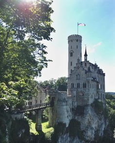 Schloss Lichtenstein, Baden-Württemberg, Germany