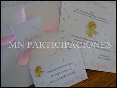 Invitaciones en Sobre Puntilla.