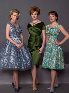 Mad men style. Makes me mad that we don't dress like this now.