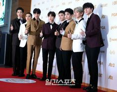 [180111] EXO at Golden Disc Awards Red Carpet 2018.