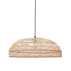 The HK Living studio designs the Wicker rattan pendant collection. With a simple design in natural style the seductive Wicker Flat pendant light takes us. Pendant Lamp, Pendant Lighting, Rattan, Wicker, Living Style, Kare Design, Luminaire Design, Room Lamp, Hanging Pendants
