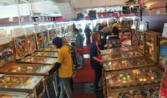 """Spend an hour or two at the Silverball Museum in Asbury Park right on the boardwalk. Play on vintage and new pinball machines and get a history lesson at the same time (this is a """"museum"""" after all!)   http://silverballmuseum.com/"""