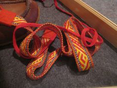 Sami shoe bands I took this photograph in London