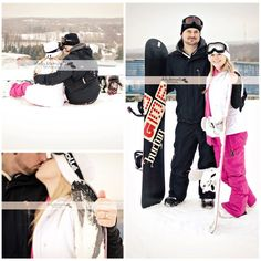 Snowboard engagement