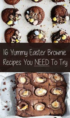 Community: 16 Yummy Easter Brownie Recipes You Need To Try