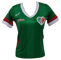 Amazon.com  Mexico Soccer Women s Jersey Exclusive Design Copa America 2016  (Large)  Clothing 0311feb88662d