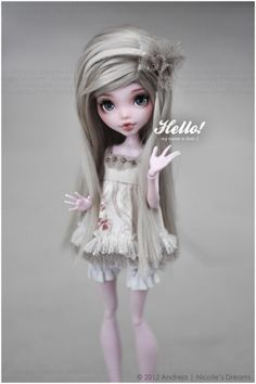 Hello, nice to meet you by AndrejA on @DeviantArt