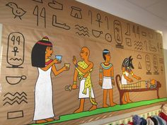 Egyptian Crafts, Egyptian Party, Egypt Decorations, Joseph In Egypt, Ancient Egypt For Kids, Vacation Bible School, Thinking Day, Ancient Civilizations, Teaching Art