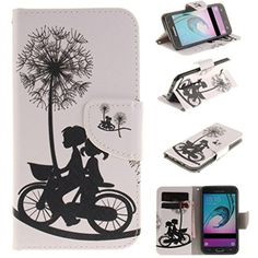 Case for Galaxy J3,Wallet Galaxy J3 Cases,Spigeotter Elegant PU Wallet Case Cover with Credit Card Slots for Samsung Galaxy J3 for Women for Girls# 9 - Brought to you by Avarsha.com