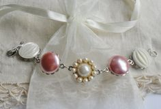 Vintage Recycled Jewelry Bracelet