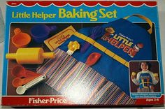 Fisher Price Toys, Vintage Fisher Price, Baking Set, String Quilts, Little Tikes, Doll Shop, Popular, Toy Boxes, The Good Old Days