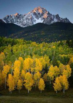 Mount Sneffels San Juan Mountains - Colorado.