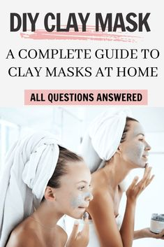 All the benefits of clay masks, such as Aztec, Bentonite and Pink clay mask. DIY bentonite clay mask for glowing skin, clean pores and anti-aging. The best of Indian healing for your skin #claymask #claymaskbenefits #bentonite #diyclaymask