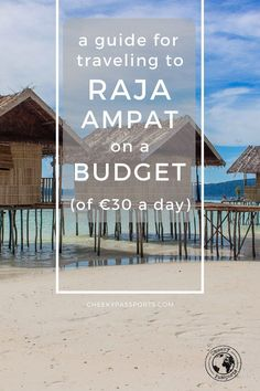A Guide for Traveling to Raja Ampat on a budget - Remote places in Indonesia are less affordable than the more mainstream islands. Traveling to Raja Ampat on a budget requires some thorough planning and research, but don't despair, as we made a list of the best hacks for traveling in Raja Ampat on a shoestring (if you can call €30 per day so)! Curious? Read on! #rajaampat #wonderfulindonesia #budgettravel #travelguide Cheap Travel, Budget Travel, Travel Guides, Travel Tips, Travel Destinations, Adventures Abroad, Passport Travel, Student Travel, Travel Images