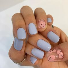French Tip Acrylic Nails, Best Acrylic Nails, Simple Acrylic Nails, Colorful Nails, Aycrlic Nails, Swag Nails, Nail Manicure, Cute Gel Nails, Hair And Nails