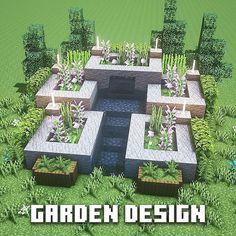 Minecraft Garden, Minecraft House Plans, Minecraft Farm, Minecraft Cottage, Cute Minecraft Houses, Minecraft House Designs, Minecraft Construction, Amazing Minecraft, Minecraft Blueprints