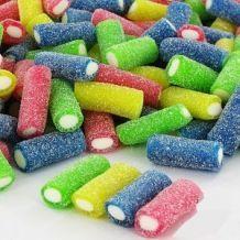 Candy Crash, Bonbon Caramel, Movie Night Gift Basket, Rainbow Food, Rainbow Candy, Food Wallpaper, Chocolate Factory, Breakfast Cake, Candy Store