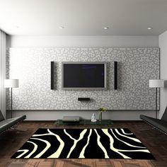 Teppich Zebra - 80 x 150 cm
