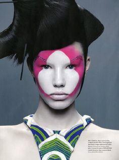 Wound-Rene Et Radka. Circus Makeup, Art Visage, Extreme Makeup, Foto Fashion, Make Up Art, Too Faced, Beauty Shots, Fantasy Makeup, Creative Makeup