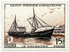Le Galantry stamp