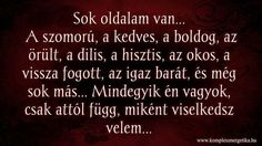 Sok oldalam van... Funny Quotes, Life Quotes, Anti Social, Einstein, Messages, Humor, My Love, Words, Bottle