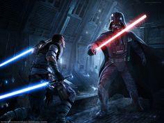 Galen Marek vs Darth Vader (The Force Unleashed)
