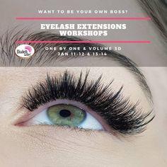 🔥News Eyelash Extensions Workshops by Elisabeth Lashes Extensions Βλεφαρίδων ! 📌Θα καλωσορίσουμε το 2019 με ένα τετραήμερο σεμιναρίων για να ξεκινήσετε την καριέρα των ονείρων σας με την έναρξη της νέα χρονιάς! 📌Δύο διπλά συνεχόμενα σεμινάρια #extensions βλεφαρίδων, One by One & Voume 3D με τον τρόπο και την γνώση που μόνο εμείς γνωρίζουμε, σας περιμένουν στην Αθήνα 📆 11-12 & 13-14 Ιανουαρίου ! Be Your Own Boss, Eyelash Extensions, Eyelashes, Workshop, Lashes, Lash Extensions, Atelier, Work Shop Garage
