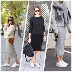 Que las zapatillas blancas están de moda es un hecho y ¡aquí os dejamos algunas ideas para combinarlas!