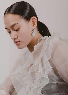 Sparkle crystal drop clip on earrings. In Perfect Vintage Condition. Clip On Earrings, Drop Earrings, Crystal Drop, Sparkle, Ruffle Blouse, Vintage, Women, Fashion, Moda