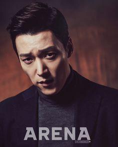 Pride and Prejudice's Choi Jin Hyuk poses for a noirish pictorial for the March edition of Arena Homme+. Choi Jin Hyuk, Lee Jin Wook, Choi Seung Hyun, Ji Chang Wook, Korean Men, Korean Actors, Korean Face, Korean Dramas, Asian Actors
