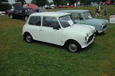 1973 Austin Mini Cooper #car