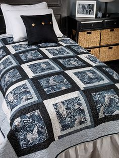 Exclusively Annie's Focused Quilt Pattern from Annie's Craft Store. Order here: https://www.anniescatalog.com/detail.html?prod_id=132679&cat_id=1644