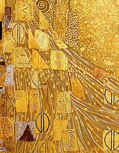 "UNHISTORICAL — Gustav Klimt ""Golden Phase"" detail from Judith..."