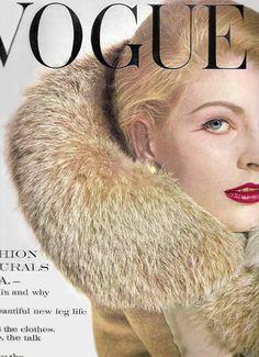 ANGELA HOWARD,  Vintage Vogue Cover
