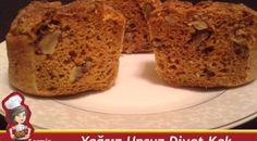 Yağsız Unsuz Karatay Diyetine uygun şekersiz Kek Tarifi.