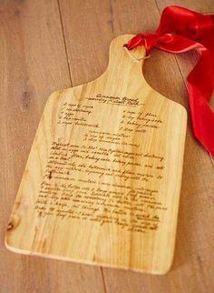 Diy wood burning christmas gifts for nana
