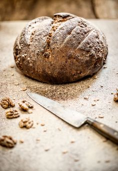 Walnut & date loaf by Clare Fenwick Hyde of the Malvern Supper Table