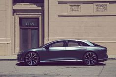 Lucid Air via @onreact Electric Pickup, Electric Cars, Electric Vehicle, Smart Fortwo, Rolls Royce, Automobile, Air Car, Tesla S, Small Buildings