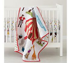 Where was this a year ago!? Baby Bedding: Circus Themed Crib Bedding