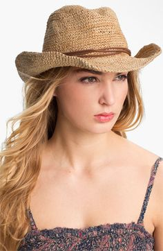 Tarnish Straw Cowboy Hat available at #Nordstrom