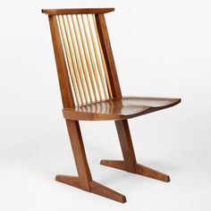 CONOID CHAIR by George Nakashima produced by George Nakashima Woodworker - click to enlarge