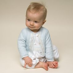 Newborn Boy Jumpsuit - Harrison Christening & Baptism Collection