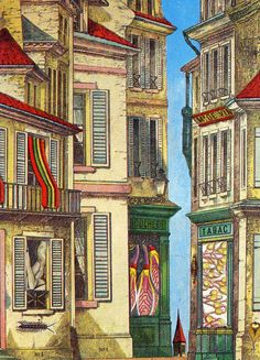 Max Ernst (1909-1976)  Commonplaces - Where to Unwind the Spool, 1971