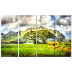 Beauty of Nature - Landscape Canvas Wall Art Print