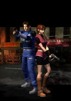 resident evil 2 | The Video Game Genealogist: Game A2 : Resident Evil 2 - Introduction