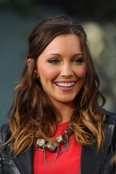 katie cassidy ombre hair