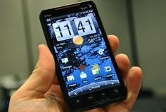 HTC EVO 4G. This is the phone that I have and I like it.
