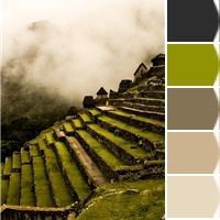 #MachuPicchu Inspired Color Scheme for the home! Definitely a contender for a room!!